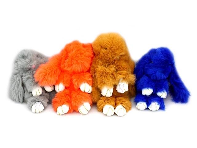 Мягкая игрушка, Кролик, 17*10см., брелок
