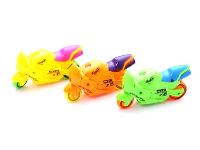 Заводная игрушка, светящаяся, Мотоцикл, Cartoon Toys
