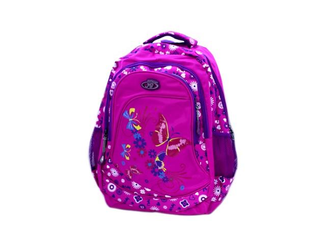 Рюкзак 45.5*29.5*17 см, Бабочка и цветочки, Basir