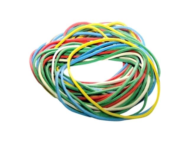 Резинки для денег 200 г, цветные в пакете, Attomex 4152311