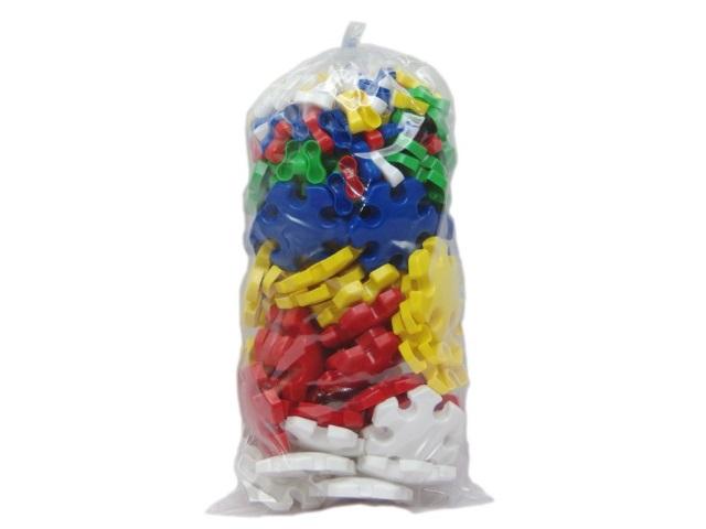 Мозаика 55 + 110 деталей, пластиковая, фишка d=90мм., напольная, в пакете, Каролина