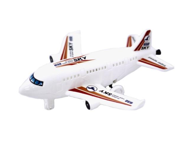 Заводная игрушка, Самолет, в пакете, BestЦенник