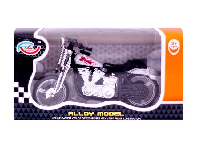 Мотоцикл пластиковый, Alloy Model, в коробке