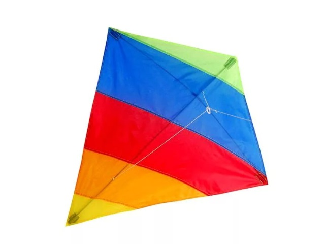 Воздушный змей, Цветной, в пакете, Qinzhengyuan