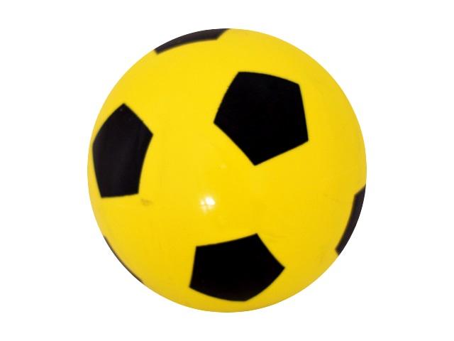 Мяч детский резиновый Футбольный на пружине M01392