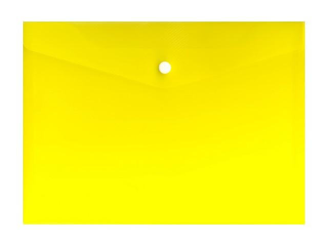 Папка конв на кн А5 прозр желт 180мкм Expert Complete 220550/10/100