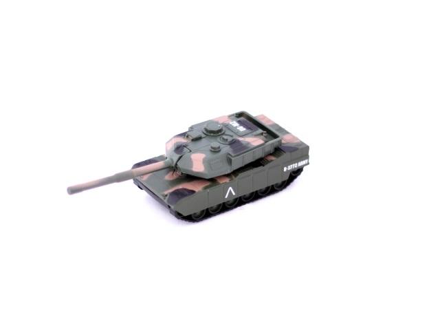 Танк инерционный, металлический, Леопард, в коробке