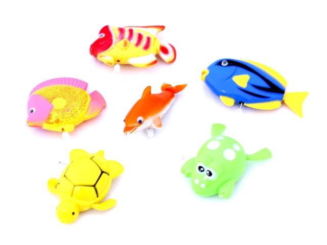 Заводная игрушка, набор 6 шт., Для рыбалки, Lovely, в пакете