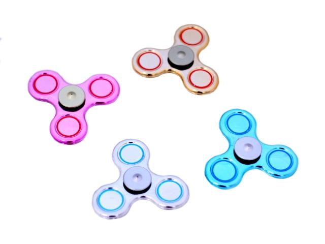Спиннер пластиковый, перламутровый, цвета ассорти, Gyro, в коробке