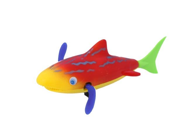 Заводная водоплавающая игрушка Акула в пакете, Tongde, арт. 778