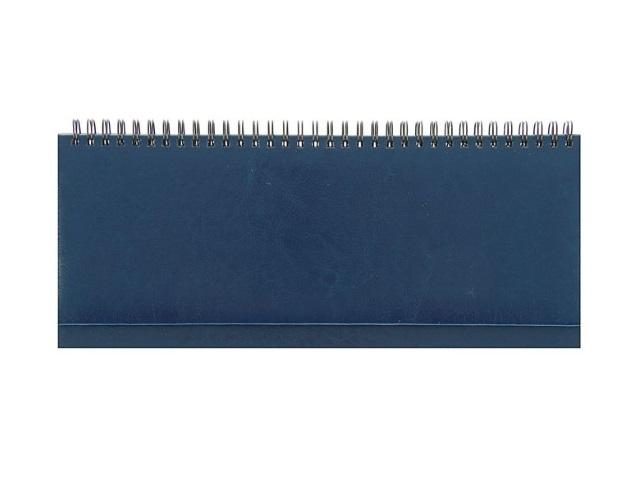 Планинг не датированный, 56 листов, бумвинил, синий Prof Press