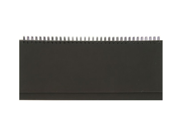 Планинг недатированный бумвинил 56 листов черный, Prof Press 56-1496