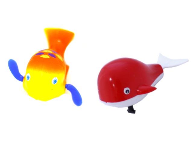 Заводная водоплавающая игрушка Кит в пакете, Tongde, арт. 748
