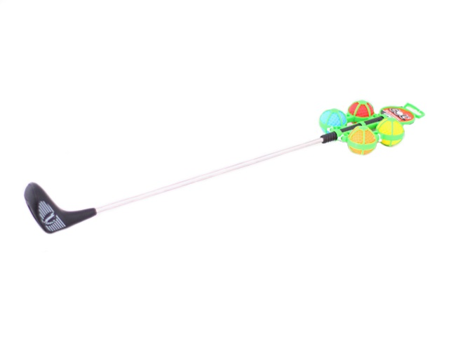 Игровой набор Гольф, 5 предметов (клюшка - 1 шт., мячик - 4 шт.), Tongde