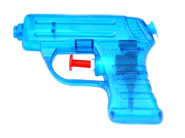 Пистолет водяной, Бластер, пластиковый, 10см., в пакете, Tongde