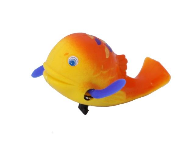 Заводная водоплавающая игрушка Рыбка в пакете, Tongde, арт. 9955