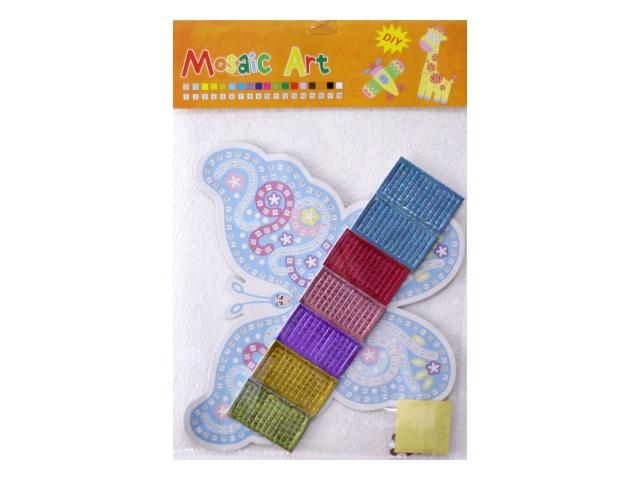 Арт-мозаика Бабочка, в пакете, Mazari М-8725