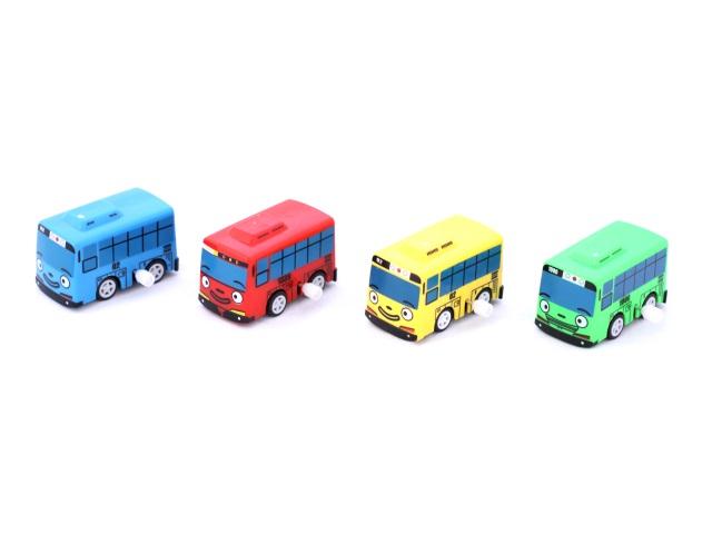 Заводная игрушка, Автобус, Тайо, в коробке