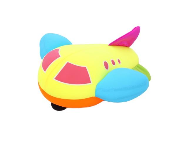Мягкая игрушка, Подушка Самолет, антистресс, 30 см