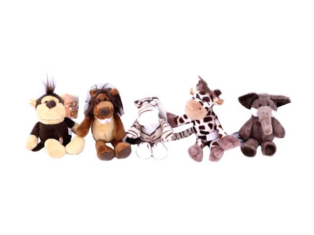 Мягкая игрушка, Животные, в ассортименте, 15 см, на присоске, Nici