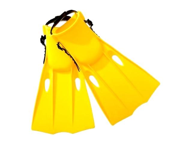 Ласты для плавания, 24-26 см, в пакете, Intex