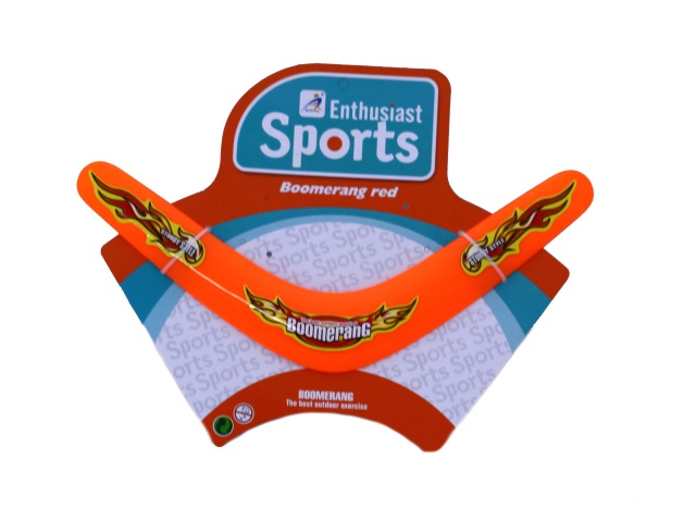 Бумеранг пластиковый, 28 см, Enthusiast Sport, Tongde