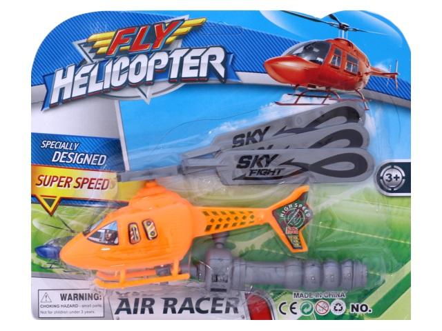 Запускная игрушка Вертолет, блистер, Tongde