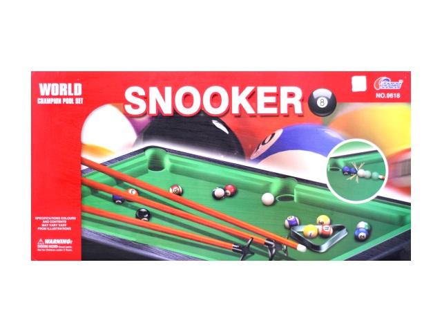Настольная игра бильярд Snooker в коробке, Tongde 9618