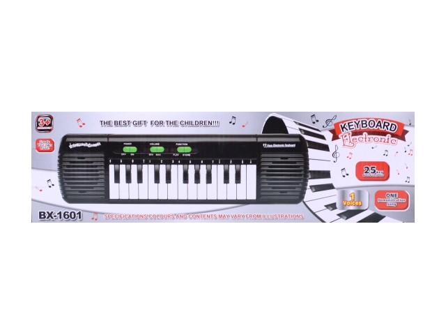 Пианино на батарейках, пластиковое, Electronic Keyboard, в коробке, Qinzhengyuan