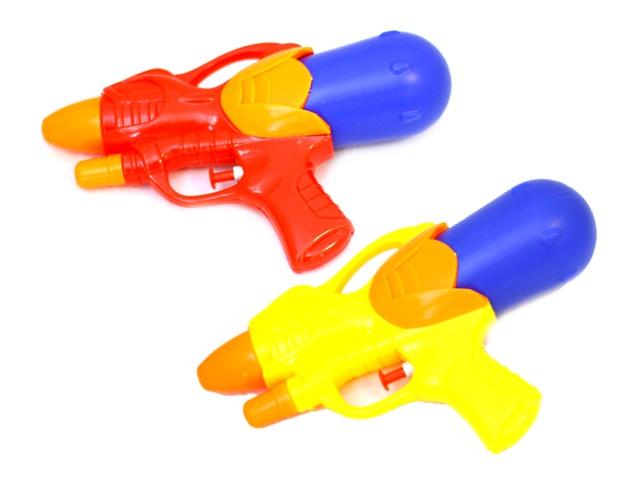 Пистолет водяной, Бластер, пластиковый, 21 см, в пакете