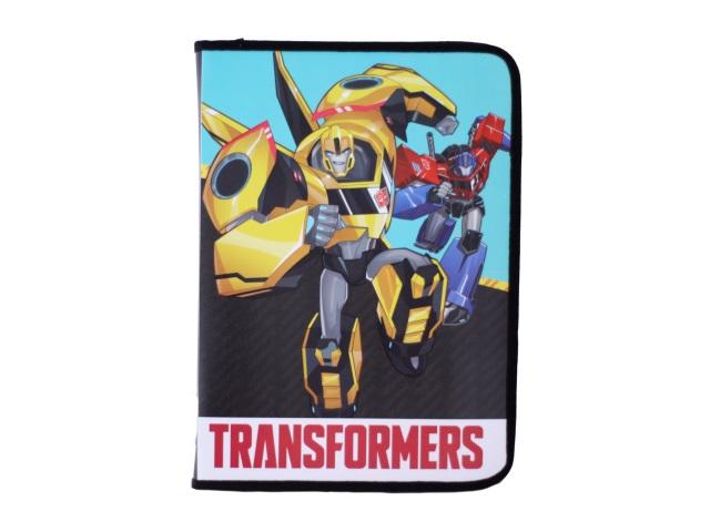 Папка для тетрадей А4 на молнии пластиковая Transformers, Академия групп TREB-US1-CPBFLA4