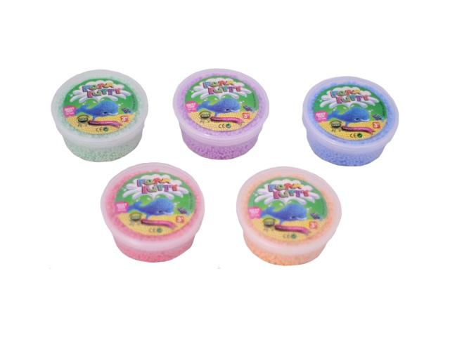 Пластилин шариковый, цвета в ассортименте, Foam Putty, в коробке