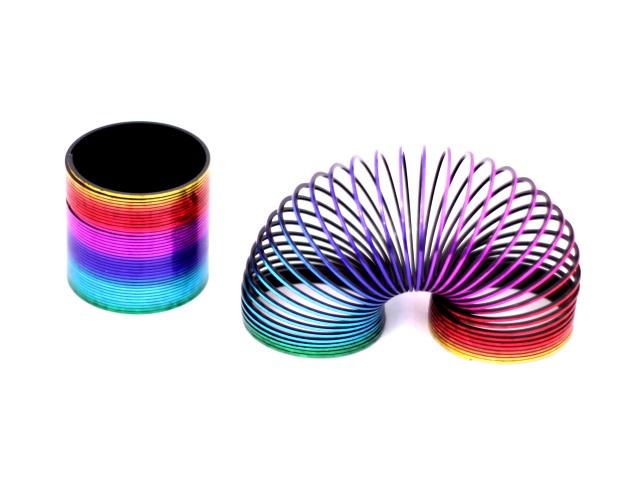 Пружина-радуга, перламутровая, Rainbow Spring, в коробке