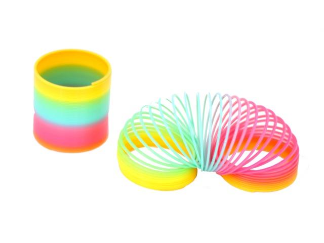 Пружина-радуга, цветная, Rainbow Spring, в коробке