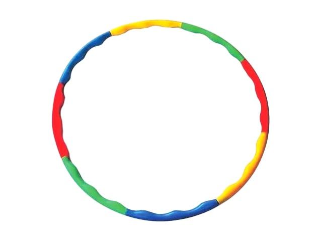 Обруч пластиковый, цветной, в сетке, Орион
