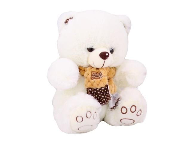 Мягкая игрушка, Медведь с шарфом, 26 см, ОК