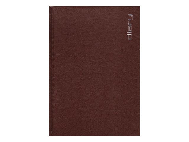 Ежедневник недатированный А5 бумвинил 160 листов Orion коричневый, Attomex 2034393
