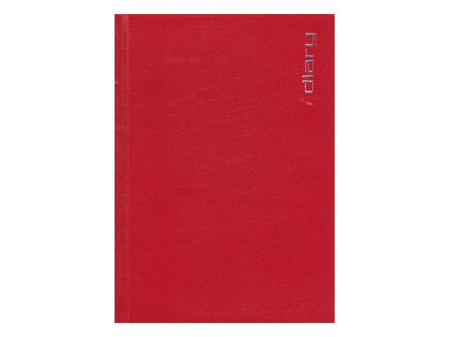 Ежедневник не датированный А5 320 листов бумвинил Orion красный, Attomex 2034394