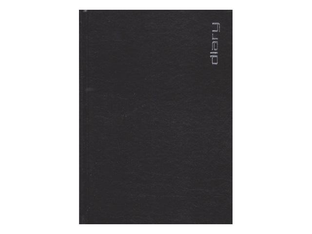 Ежедневник не датированный А5 320 листов бумвинил Orion черный, Attomex 2034391