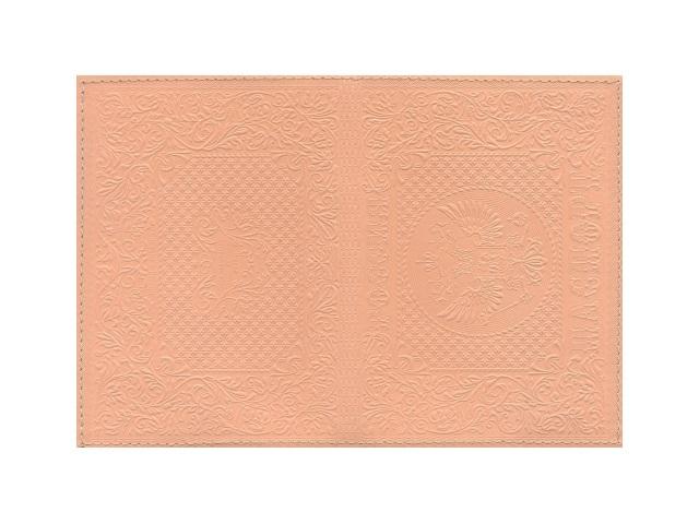 Обложка для паспорта натуральная кожа терракот Герб, Имидж 1,12-1