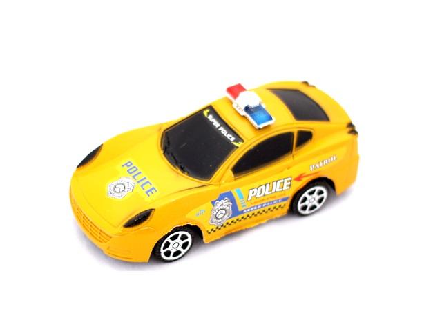 Машина инерционная пластиковая Полиция в пакете, арт. 399-68