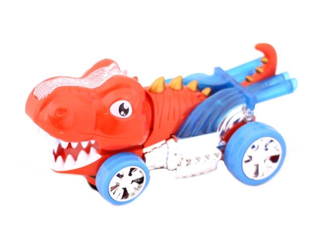 Развивающая игрушка, Динозавр, на батарейках, светящийся, звуковой, с проектором, Cartoon, в коробке, Tongde