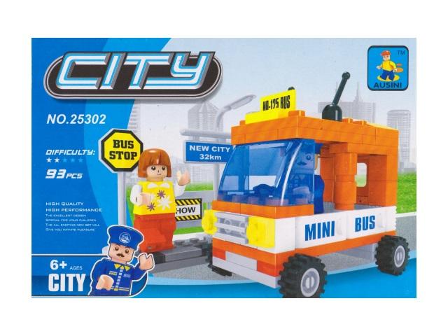 Конструктор 93 детали City, Ausini 25302