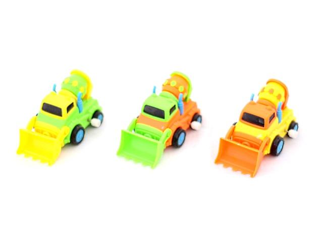 Заводная игрушка, Стройтехника, Truck Cartoon, в коробке, Qinzhengyuan