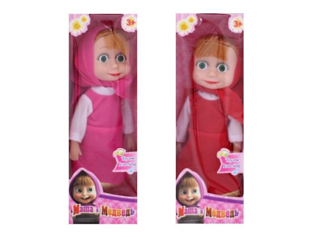 Кукла на бат Маша муз в кор 21 см