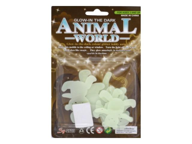 Светонакопители пласт Мишки Animal World блистер 2603/1