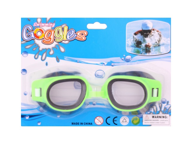 Очки д/плавания Swimming Goggles блистер/1