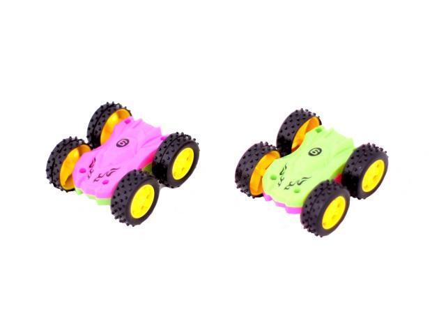 Машина пласт Перевертыш мал StuntCar в кор 7см