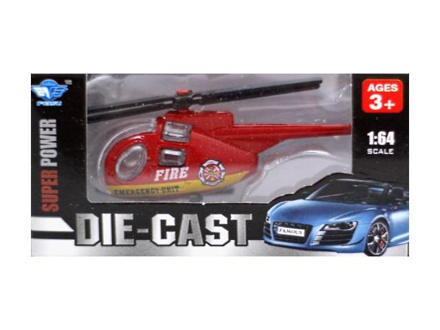 Машина металлическая Ассорти, 8 см, в коробке, Die-Cast