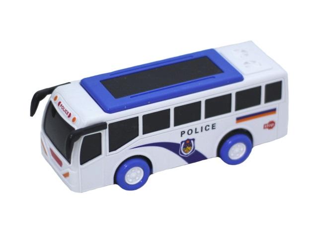 Автобус на бат инерц пласт Police Wagon звук свет в кор 15см